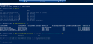 New CB Collections Overview Powershell