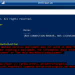New CB Deployment Overview Powershell